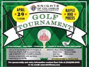 Knights Golf Tournament