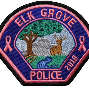Elk Grove PD Pink Patch