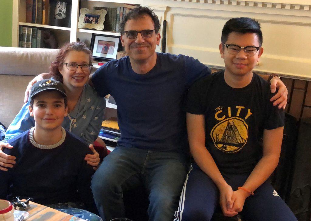 Keith Thomajan and family
