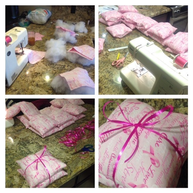 Breast Cancer Pillows