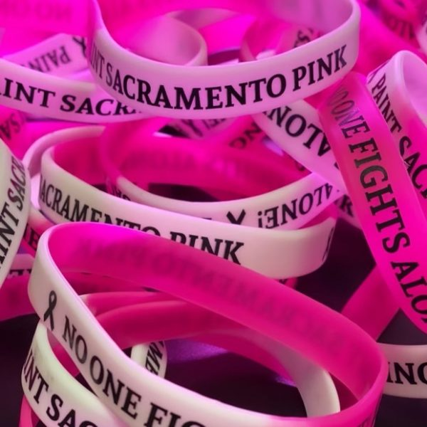 Paint Sacramento Pink Bracelet
