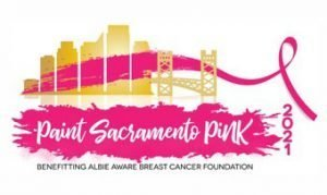 Paint Sacramento Pink Sticker